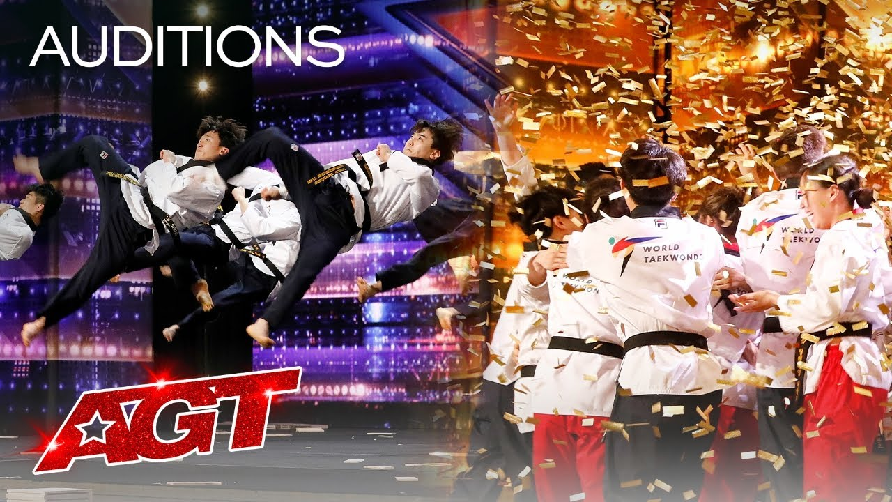Golden Buzzer: World Taekwondo Demonstration Team Shocks the Judges - America's Got Talent 2021