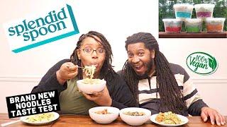 We Tried NEW Vegan Noodles!   HEALTHY MEAL DELIVERY   Splendid Spoon Taste Test \u0026 Review