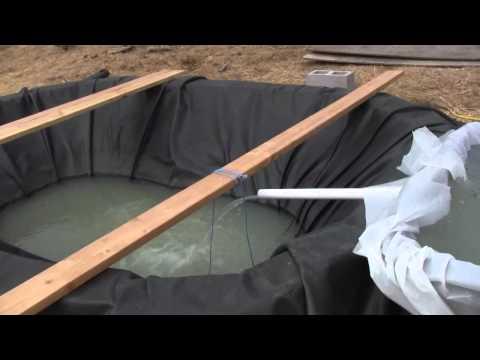 Build your own 4 x 16 Aquaponics System 7.wmv