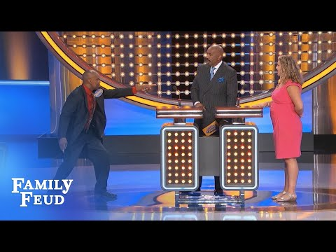 Where do you KISS on the 3rd date???  | Family Feud