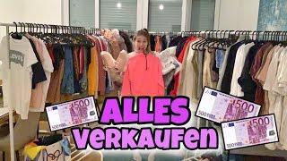 Wir verkaufen einen KOMPLETTEN Kleiderladen 💵