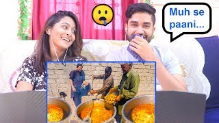 INDIANS react to INSANE Pakistani Food VILLAGE WEDDING! - 4000 PEOPLE