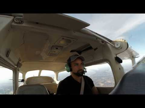 My first Private Pilot Cross Country Solo Flight!