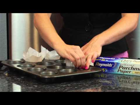 How to Make Parchment Paper Muffin Liners : Sugar & Spice