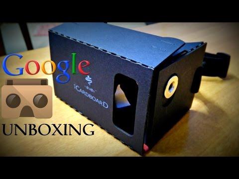 Google Cardboard Unboxing and Handson