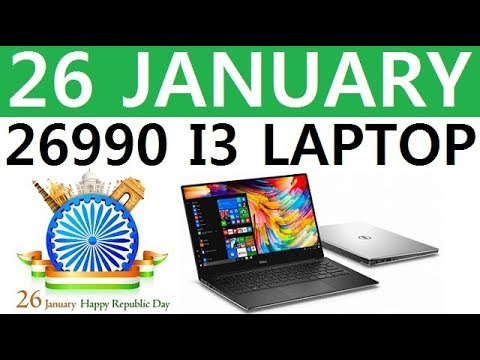 Buy Best Laptop Under 26999 With Intel Core I3 Processor In India 2018