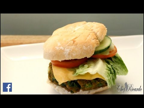 Vegetable BurgerJamaican Chef | Recipes By Chef Ricardo