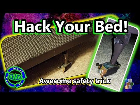 Hack Your Bed - Must See Safety Hack