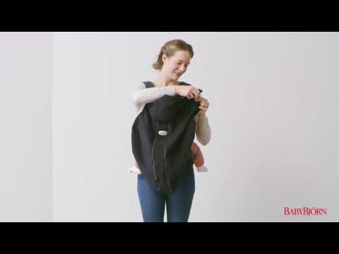 Baby Bjorn - How to attach Cover for Baby Carrier