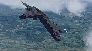 Fight For Your Life - Federal Express Flight 705 - P3D