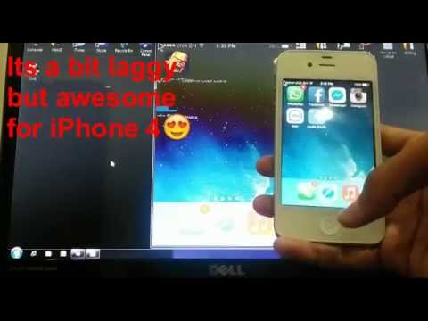 CYDIA TWEAK| To WIRELESSLY Mirror Your iPhone 4/4s/5/5s/5c/6/6+ ipad and ipod |*2015*[EASY]