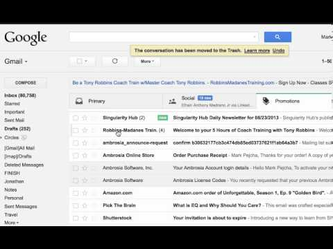 Instructions for Gmail users