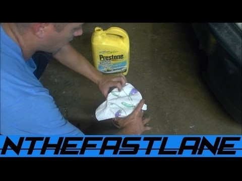 Save Your Antifreeze