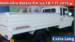 Mahindra Big Bolero Pik-up FB 1.7T 2019🔥| Full Detail Review | Specification | Price | Millage
