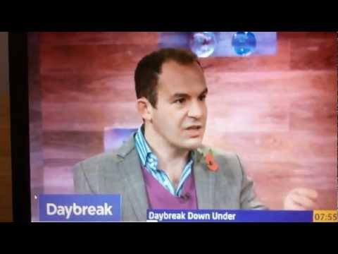 Martin Lewis - Daybeak - Explains the importance of changing energy supplier.