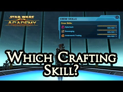 Which crafting skill should I choose? - The Academy