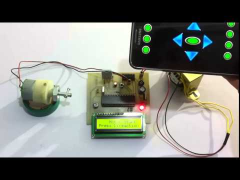DC Motor Speed Controlled By Android Project
