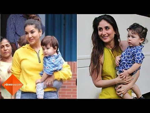 Xxx Mp4 Sunny Leone Reacts On Her Son Being Compared To Kareena Kapoor Khan's Son Taimur Ali Khan SpotboyE 3gp Sex