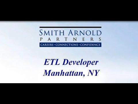 ETL Developer (CLOSED) | Smith Arnold Partners