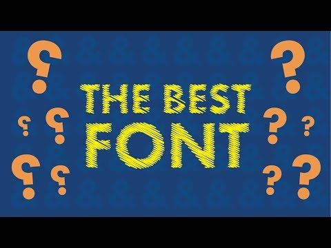 How To Choose The Right FONT For Your Logo -Brand❓