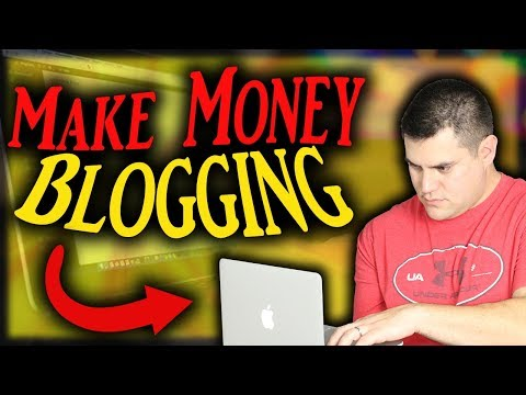 Make Money Blogging - From $0 To $1,000/Month Online (EASY)