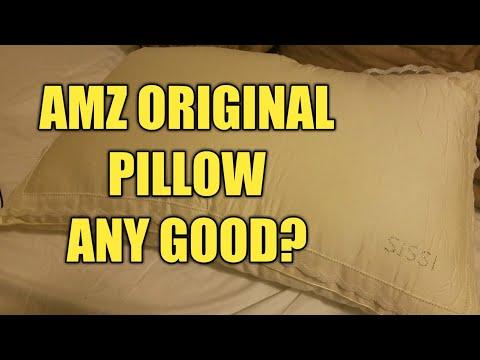 AMZ Original Bed Pillow Review