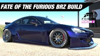 Fate Of The Furious BRZ Build - Forza Horizon 3