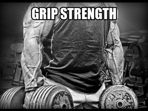 How To Build Grip Strength & Muscular Forearms