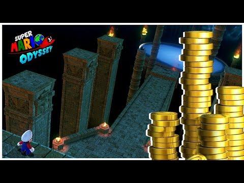 Sand Kingdom | Secret Areas #1 | Hidden Moons & Coins! | Super Mario Odyssey