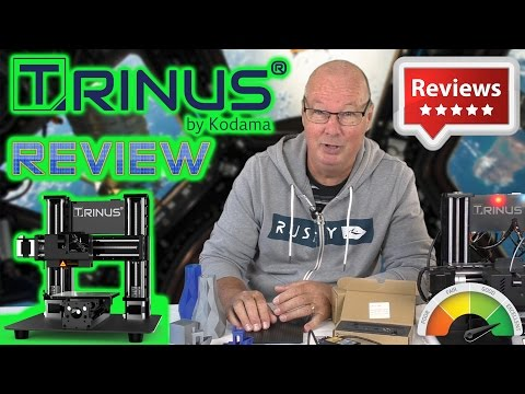 Kodama Trinus 2 in 1 Laser Engraver and 3D Printer Review! With Discount Code!