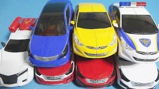헬로카봇 또봇 7대 카 변신 7 CarBot Tobot transforming robot car toys