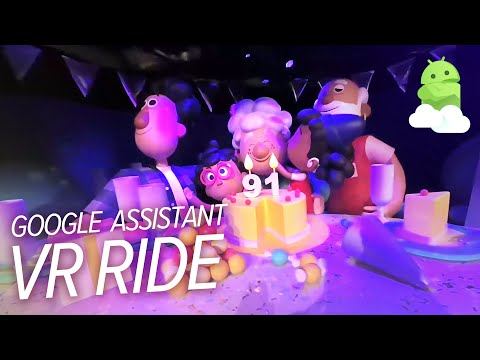 Google Assistant Ride at CES 2019 — in VR 180!