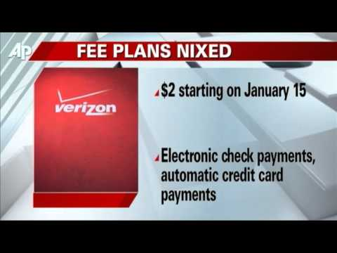 Verizon Reverses on $2 Fee for One-time Payments