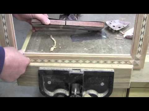 Make a Picture Frame with Diamond Inlay Banding - Pt 3