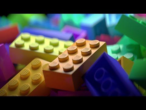 Rendering LEGO Bricks in Blender | TIME LAPSE