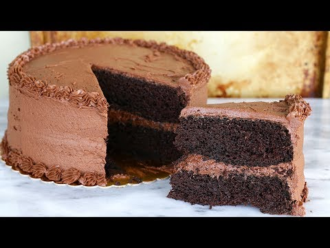 Moist Chocolate Cake Recipe - Chocolate Fudge Cake - Chocolate Cake from Scratch
