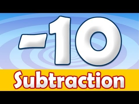 Subtraction - 10 Math Song
