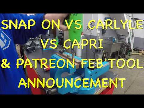 SNAP ON VS CARLYLE VS CAPRI HEX BITS ⚙️🛠🔥 (PARTREON FEBRUARY BONUS)