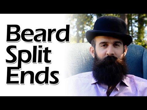 Dealing with Beard Split Ends