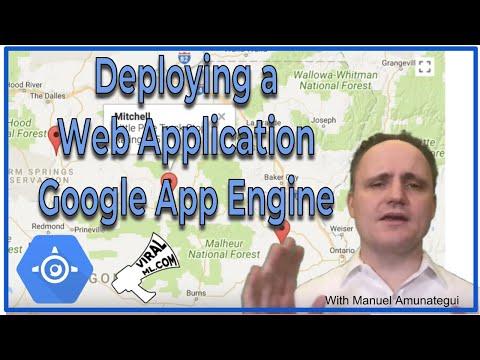 Deploying a Web Application on Google App Engine