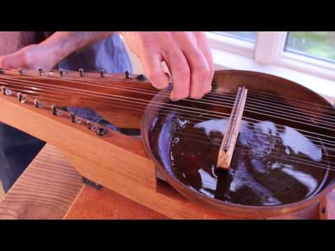 Bowed Water Psaltery — a musical instrument by Bart Hopkin