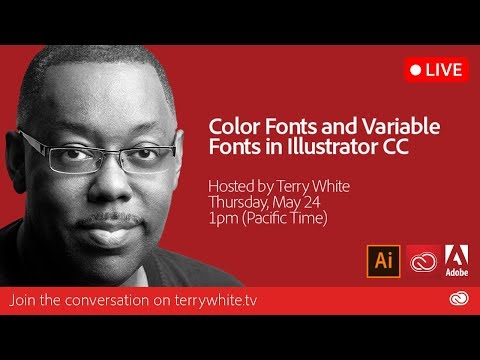 Take a Look at Color Fonts and Variable Fonts in Adobe Illustrator CC