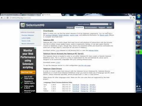 How to download and configure Selenium IDE - Selenium Tutorial