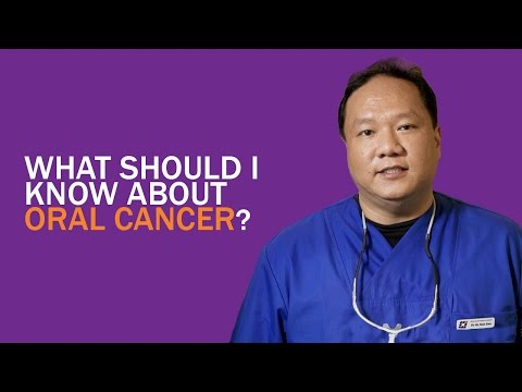 Oral Cancer: What Should I Know? (Dr Ho Kok Sen)
