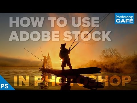 use ADOBE STOCK like a boss   QUICKLY FIND and download images in PHOTOSHOP