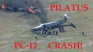 Pilatus PC-12 Crash Mesquite Texas on 23 April 2020