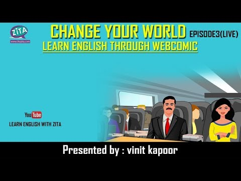 Live Class of Spoken English | Live English Speaking Class|Change Your World- Episode 3|Vinit Kapoor