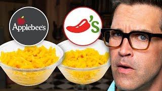 Applebees Kids Menu Vs. Chili's Kids Menu Taste Test