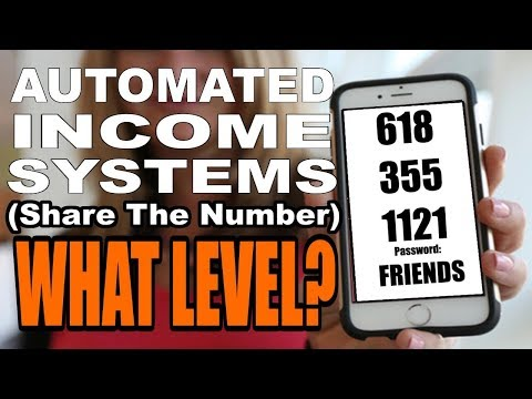 What LEVEL Should I Join Automated Income Systems at? Share The Number Strategy and Resources