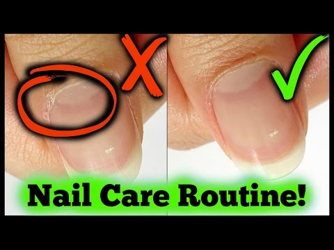 My Quick + Easy Nail Care Routine! | Nails By Kizzy